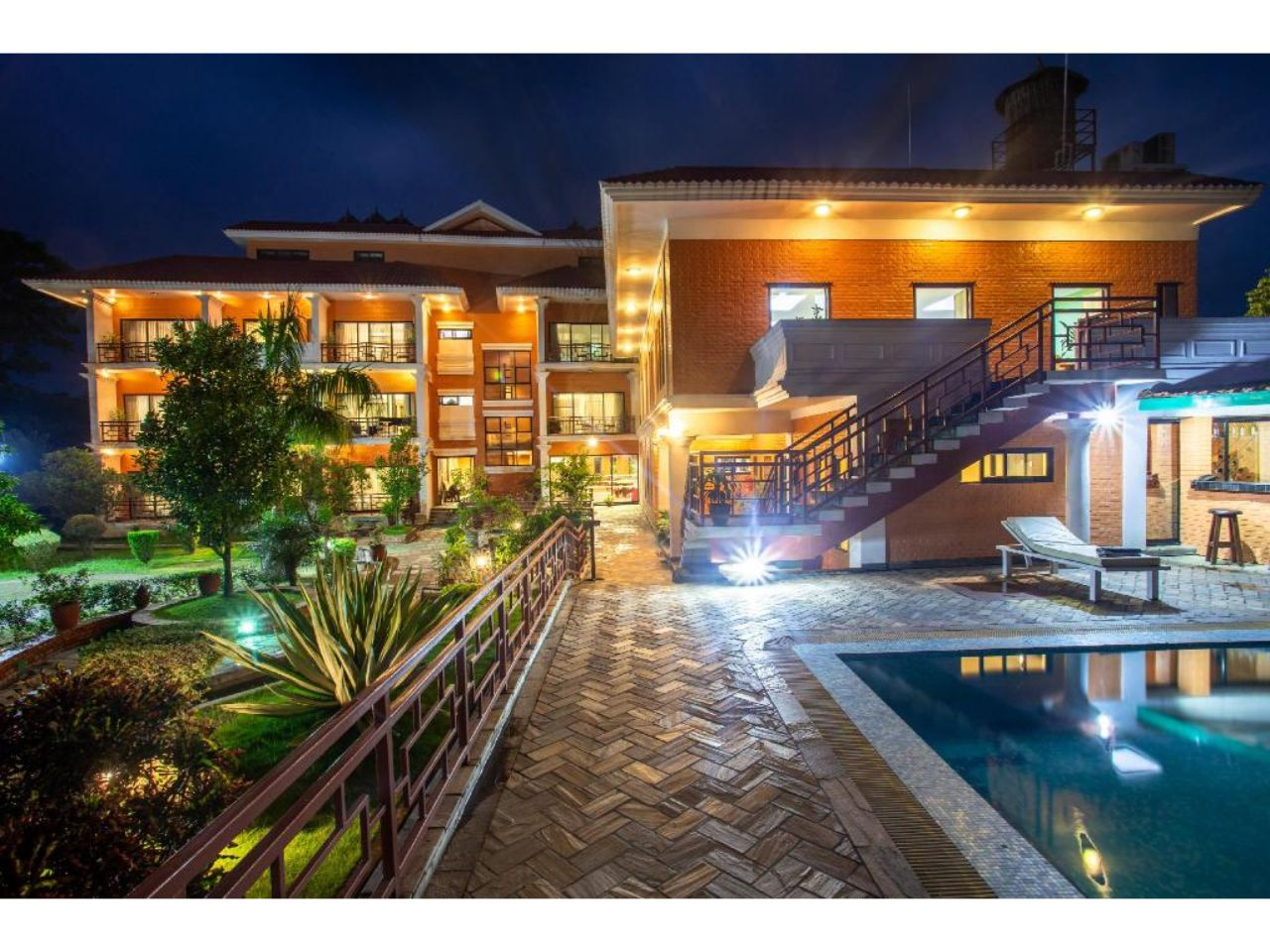 Microtech m&e concludes Hotel Land Mark Chitwan Project